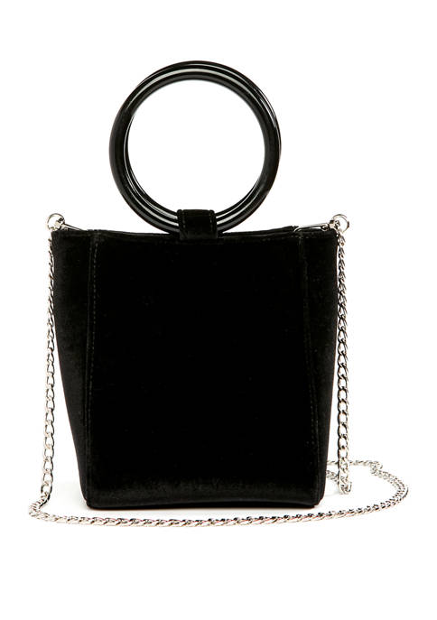 Kaari Blue™ Velvet Ring Mini Bag