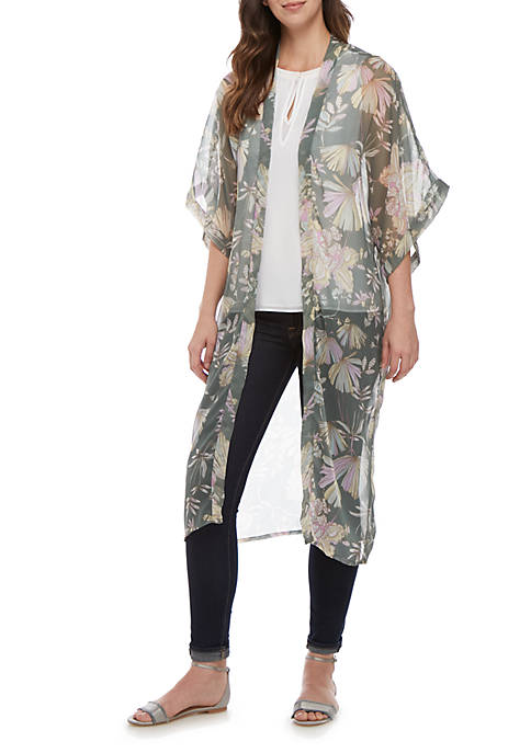Kaari Blue™ Jungle Floral Duster