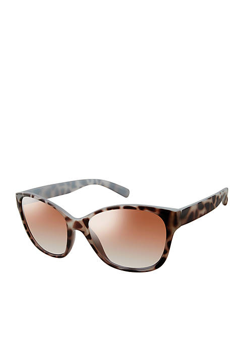 Kaari Blue™ Cat Eye Metal Tortoise Sunglasses