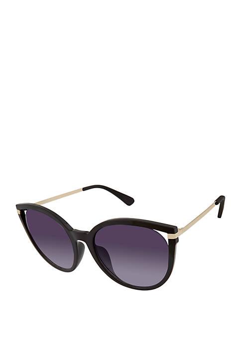 Kaari Blue™ Plastic Round Vent Sunglasses
