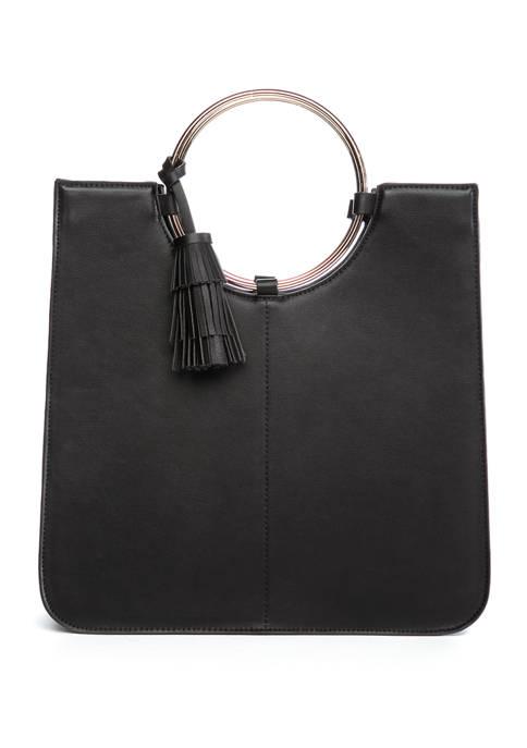 Kaari Blue™ Metal Ring Bucket Bag