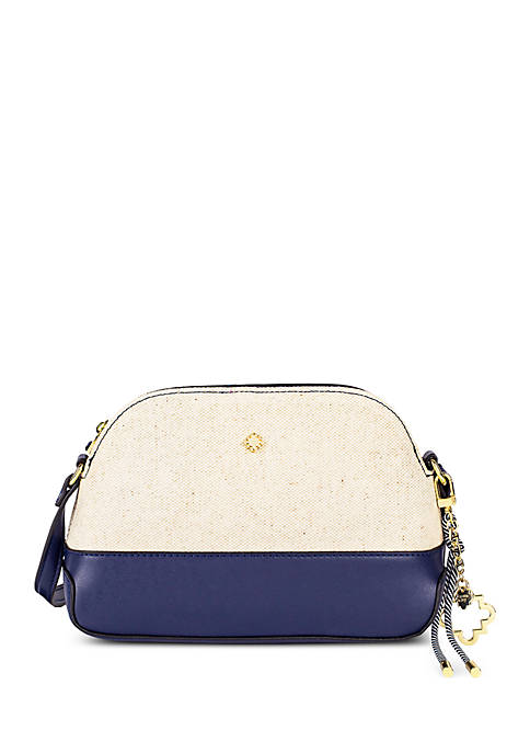 Lexi Dome Crossbody with Canvas