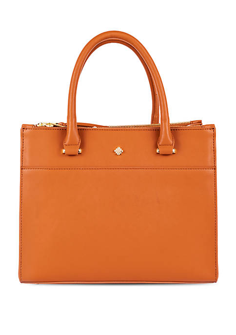 Crown & Ivy™ Darci Triple Satchel