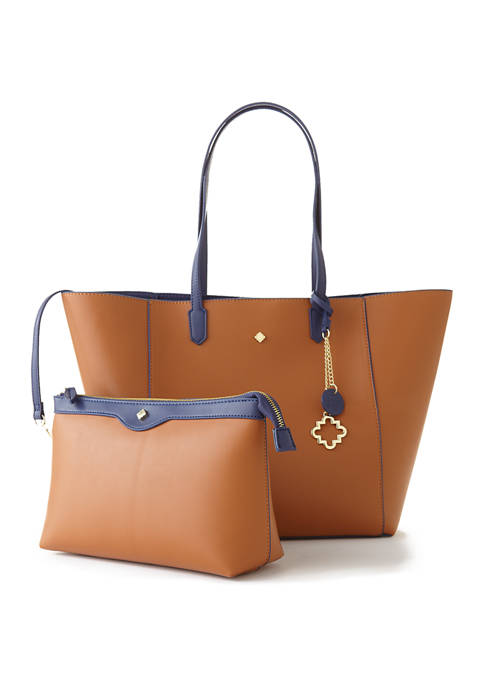 Blaire Reversible Tote with Pouch