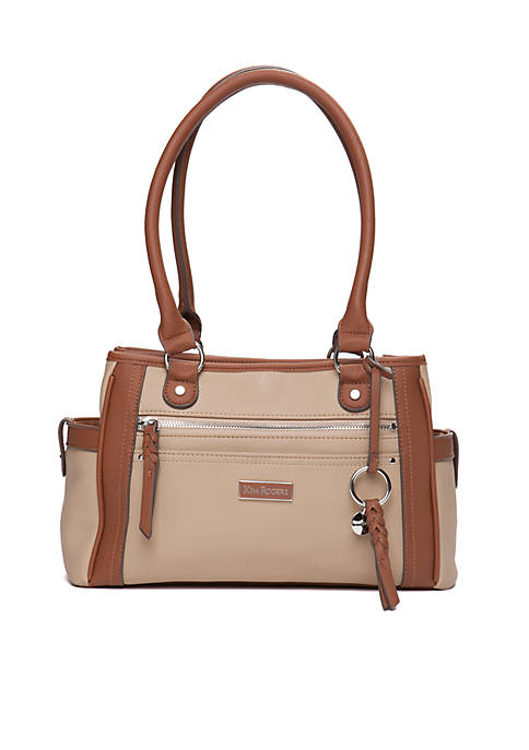 Kim Rogers® Meadow Hickory Satchel