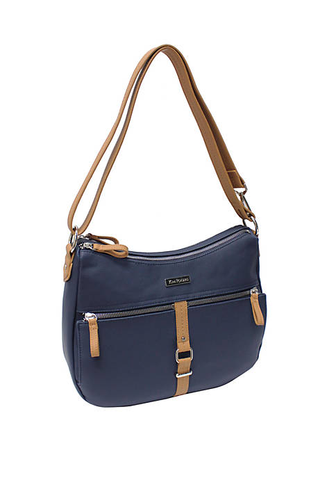 Kim Rogers® Luna Hickory North South Crossbody