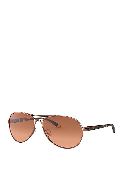 Oakley Rose Gold Feedback Sunglasses