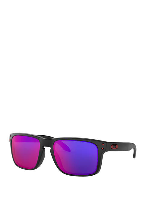Holbrook Polished Black with Prizm DpH2O Polarized Sunglasses