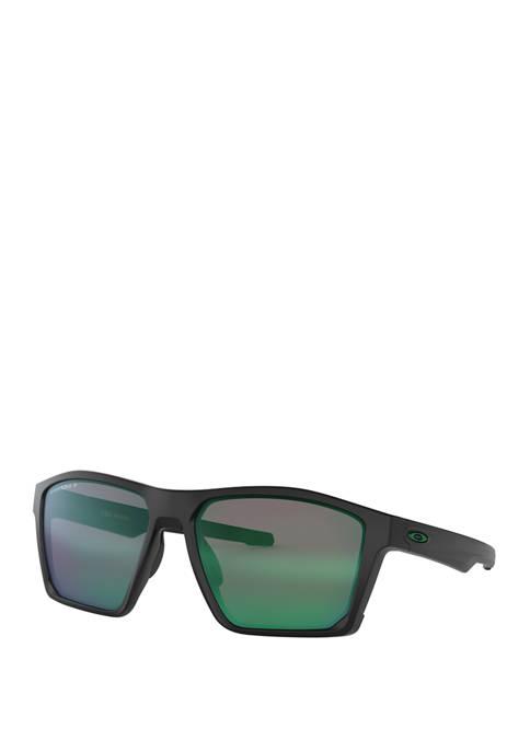 Oakley Target Line Matte Black Jade Prizm Sunglasses
