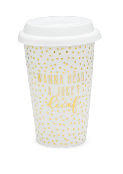 Crown & Ivy™ Ceramic Travel Mug