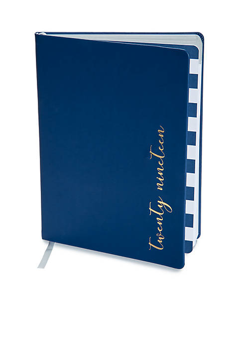 Crown & Ivy™ Leatherette 12-Month Agenda