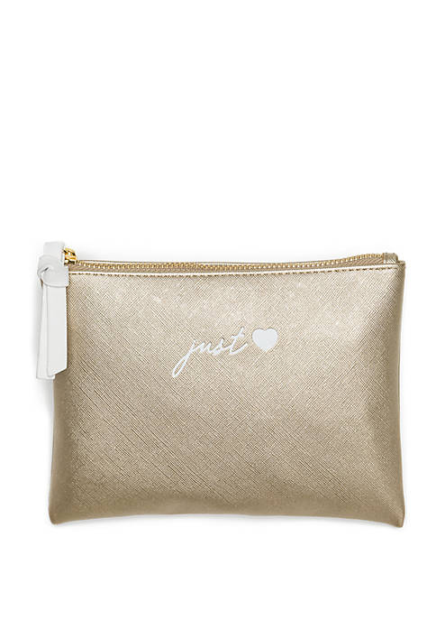 Crown & Ivy™ Leatherette Pouch