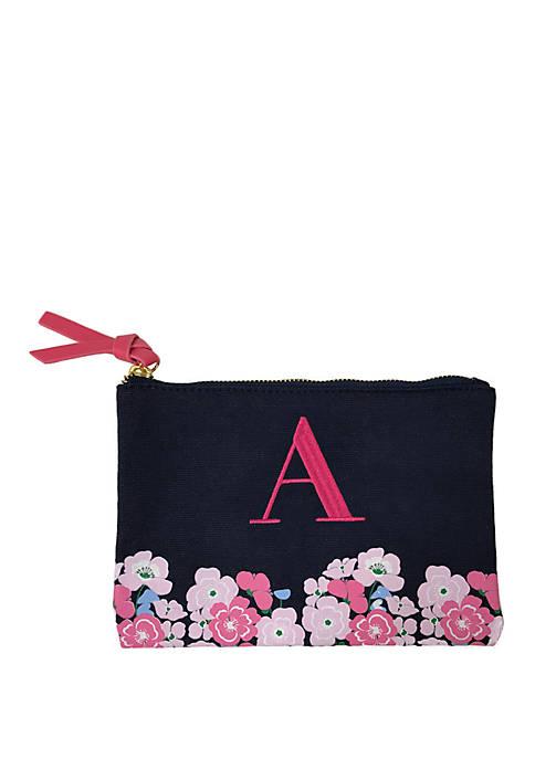 Crown & Ivy™ Monogram Pouch
