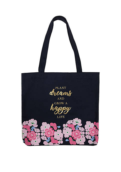 Crown & Ivy™ Canvas Tote Bag