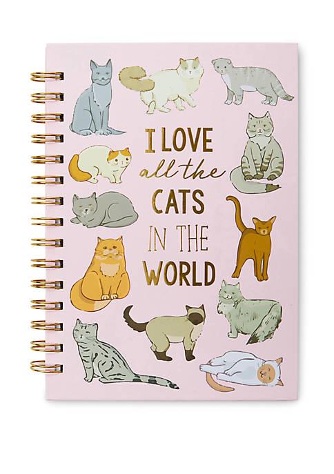 Cat Spiral Journal