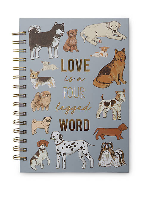 New Directions® Dog Spiral Journal
