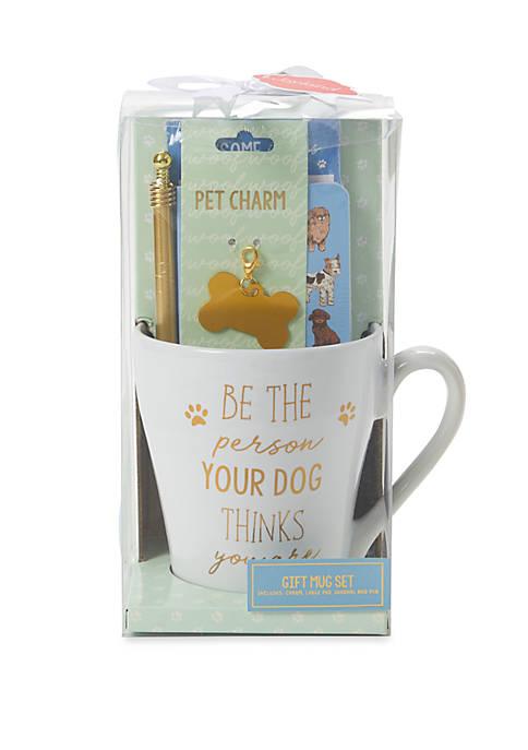 New Directions® Dog Mug and Stationery Set