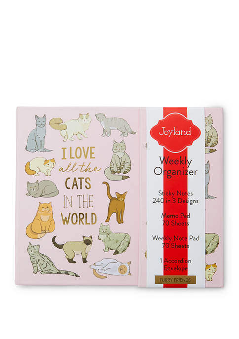 New Directions® Cat Weekly Organizer