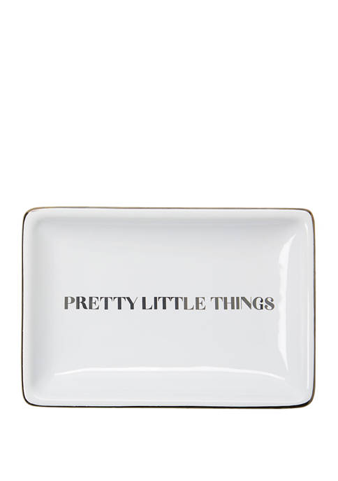 New Directions® Pretty Little Things Square Trinket Tray