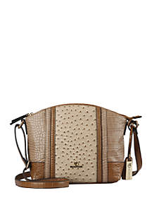 New Directions® Harper Ostrich Croco Crossbody