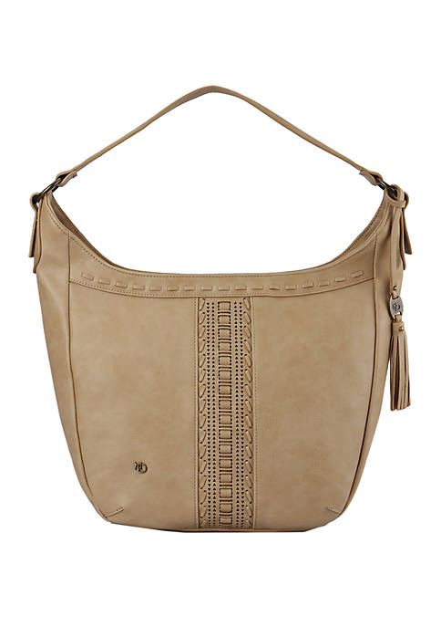 Miranda Shoulder Bag with Whipstitch