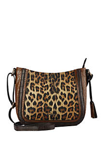 New Directions® Leopard Crossbody Bag