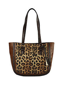 New Directions® Leopard Tote Bag