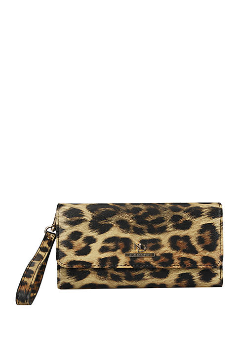 Daniella Accordian Flap Wallet with Wristlet