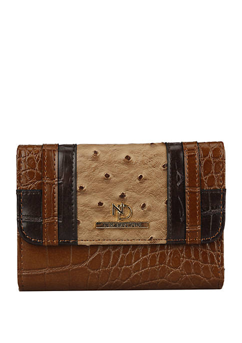 New Directions® Harper Square Flap Wallet