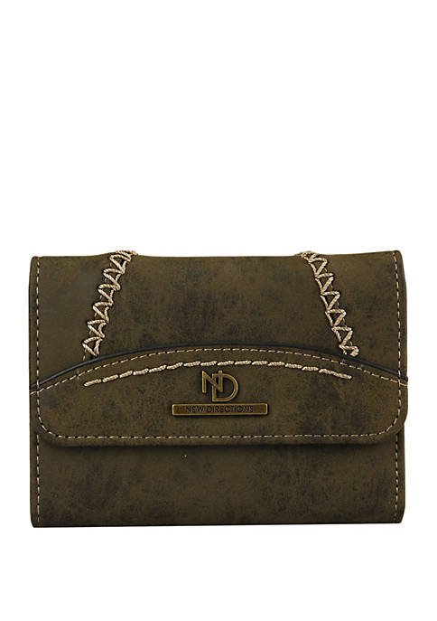 New Directions® Shara Square Flap Wallet