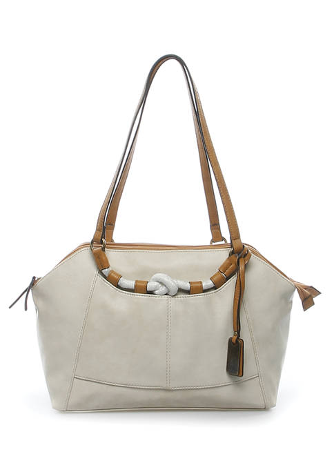 New Directions® Portsmouth Rope Strap Satchel