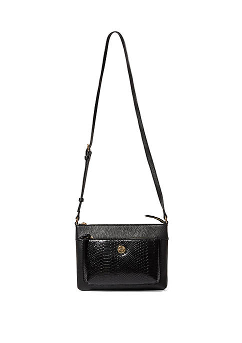 Anne Klein Snake Crossbody Bag