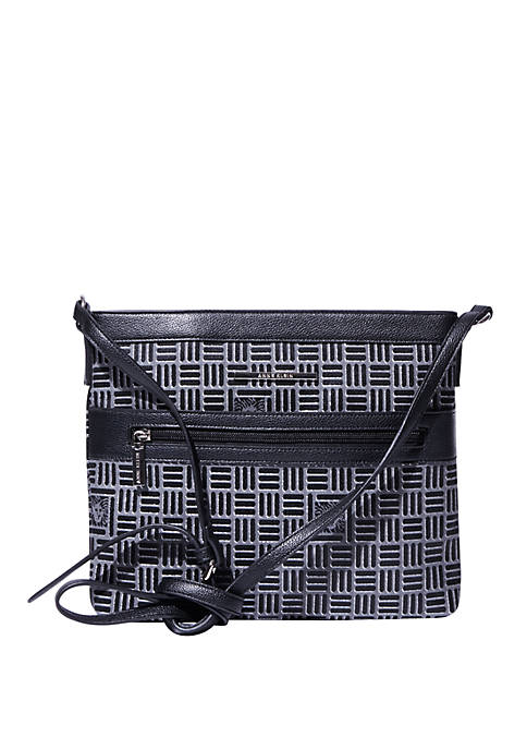 Anne Klein Signature Crossbody Bag