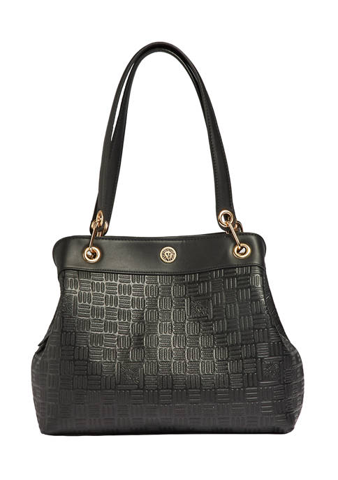 Anne Klein Embossed Chain 4 Poster Bag