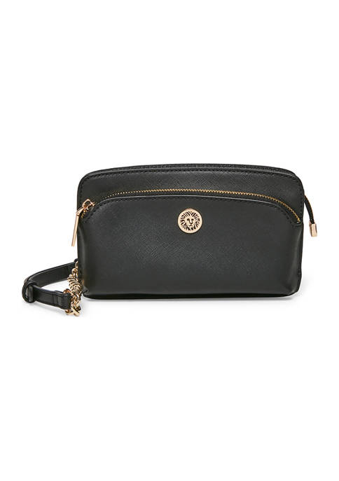 Anne Klein Chain Wallet with Long Strap