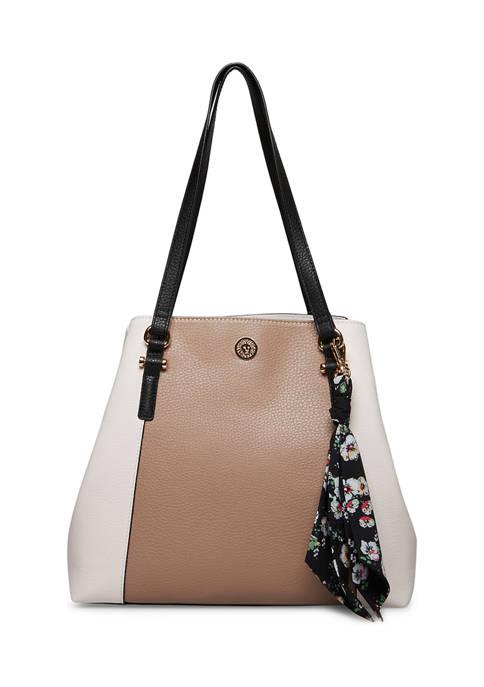 Anne Klein Detachable Chain Shoulder Strap Hobo Bag