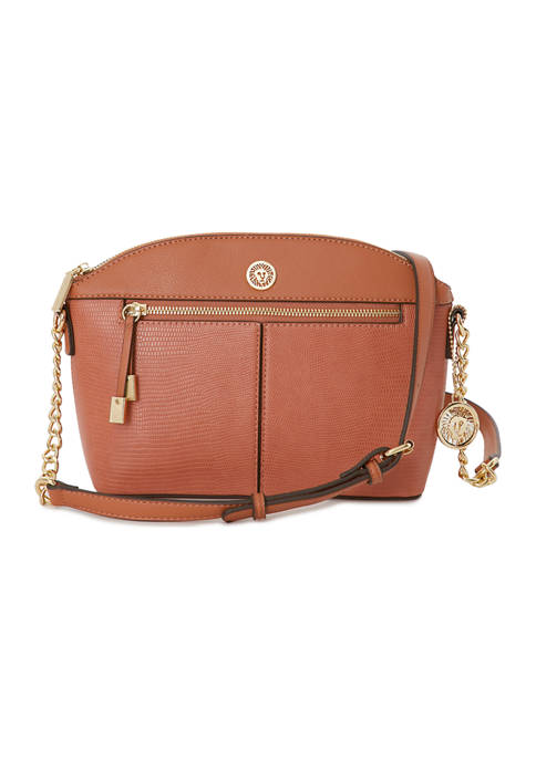 Anne Klein Classic Curves Crossbody Bag