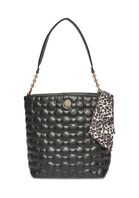 Anne Klein Smooth Boze Quilted Handbag