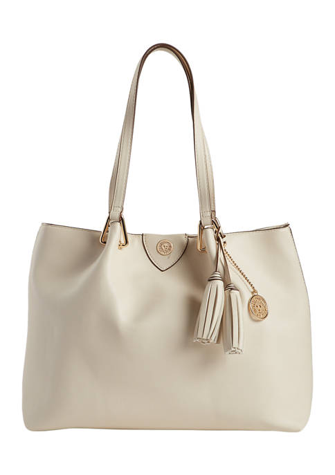 Anne Klein Faux Leather Tote