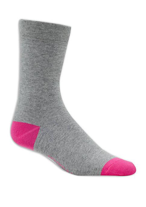 Crown & Ivy™ Solid Crew Socks