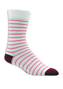 Crown & Ivy™ Stripe Crew Socks