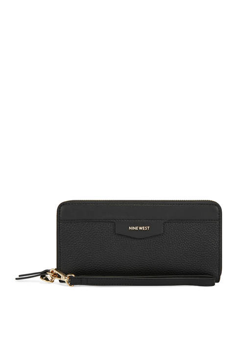 Nine West Cara Zip Around Wallet