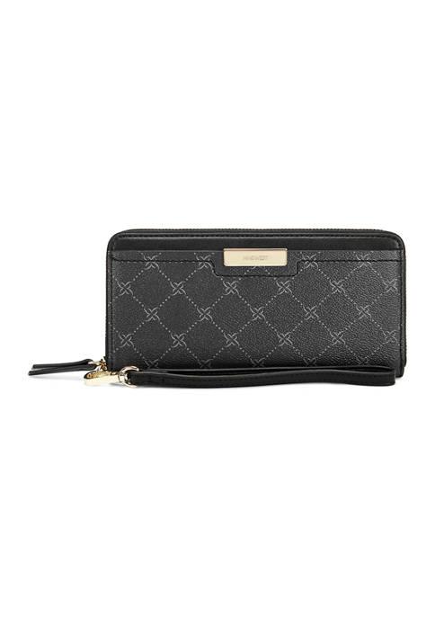 Lawson Zip Around Wristlet Wallet