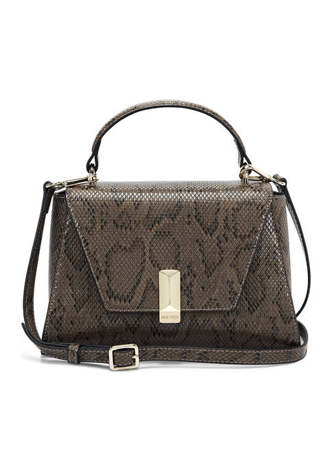 Imogen Top Handle Bag with Flap