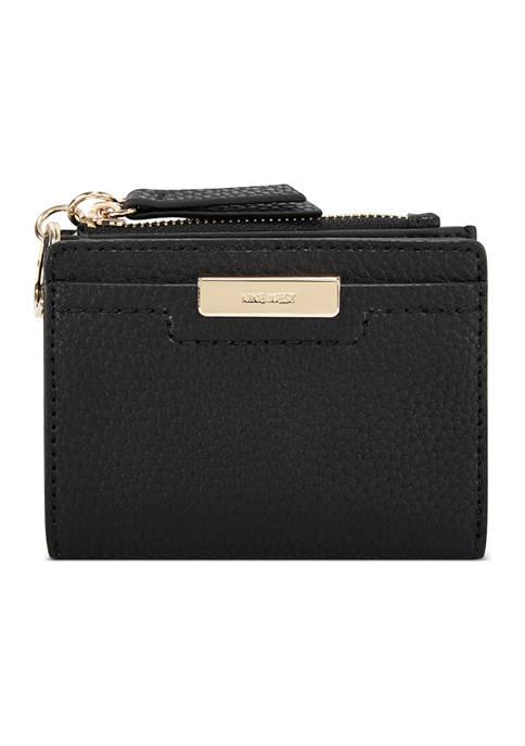 Kennedy Small Black Zip Wallet