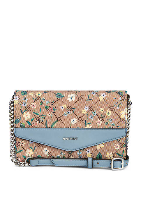 Nine West Cara Signature Wallet on a String