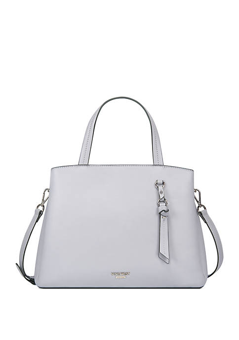 Knotted Up Triple Compartment Satchel