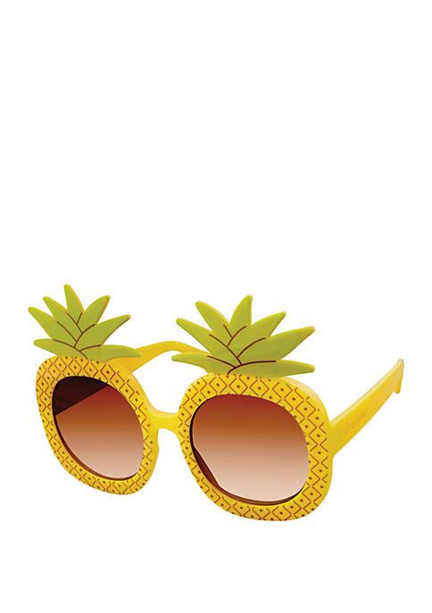 Round Pineapple Sunglasses