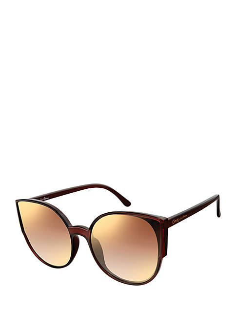 Circus by Sam Edelman Round Butterfly Sunglasses