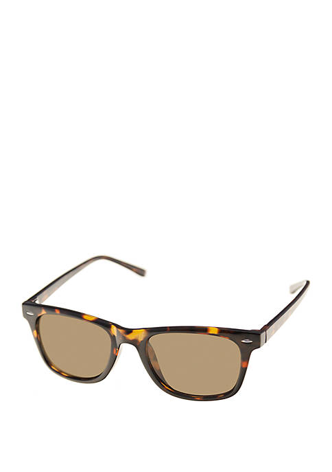 Crown & Ivy™ Clubmaster Sunglasses